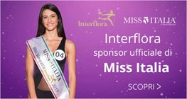 MIss Italia Interflora